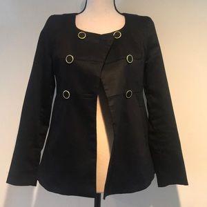 H&M black blazer size 4
